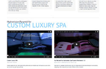 Luxury Custom Spa